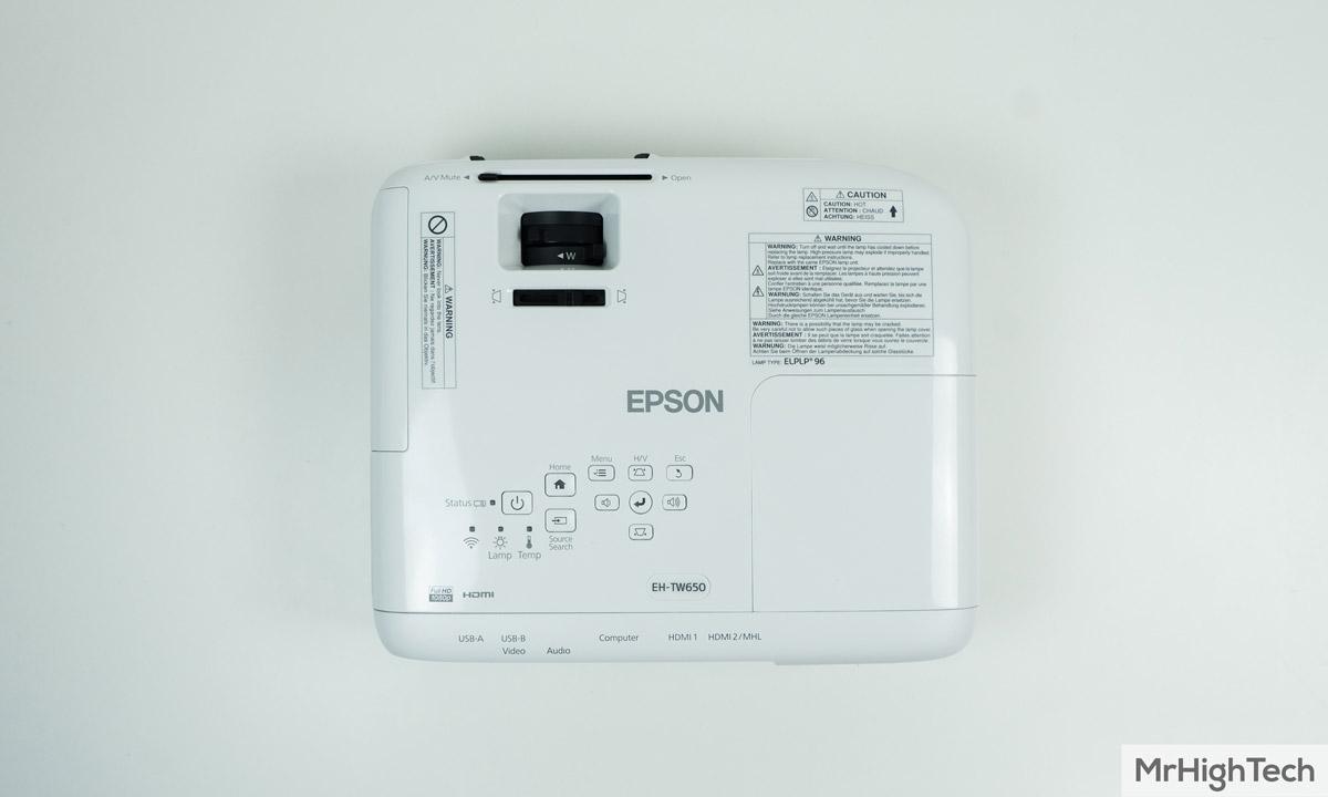 epson eh-tw650 projecteur