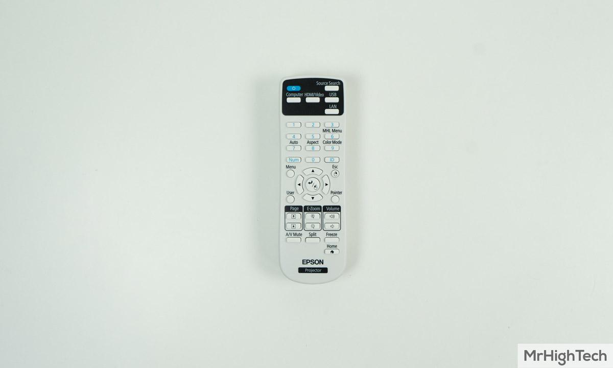 epson eh-tw650 télécommande