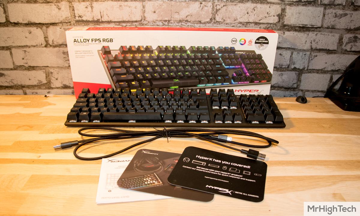HyperX Alloy FPS RGB packaging