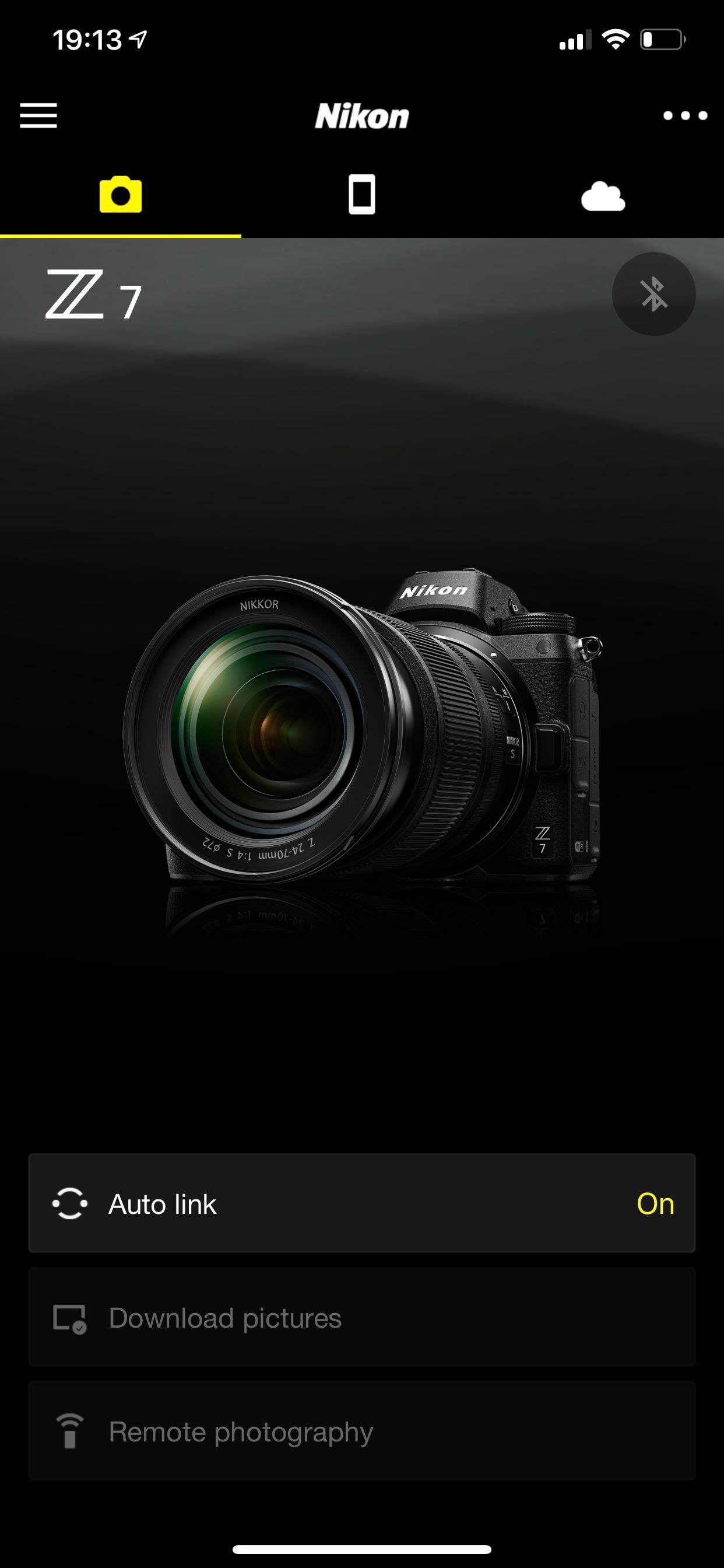 Nikon Z7 snapseed