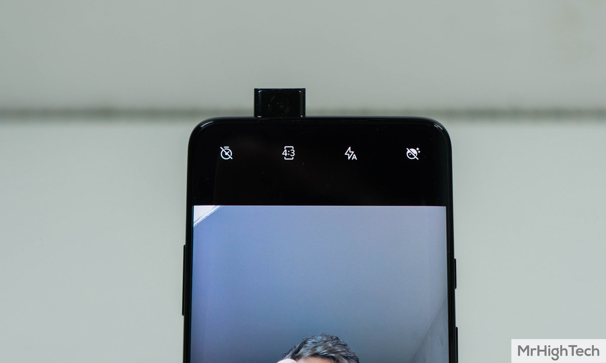 oneplus 7 pro caméra avant
