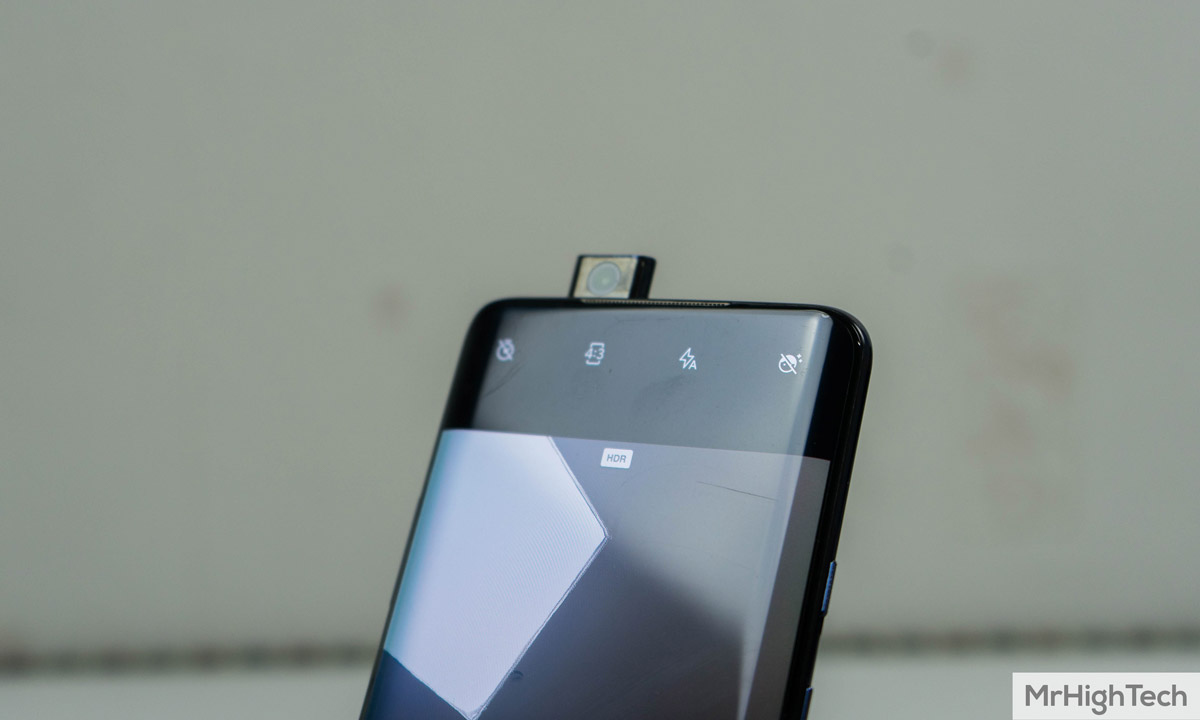 oneplus 7 pro caméra frontale