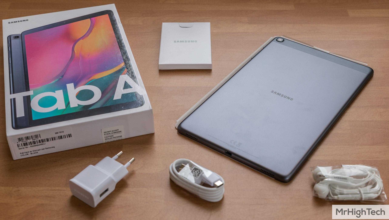 "Samsung Galaxy TabA 10.1"" Déballage"