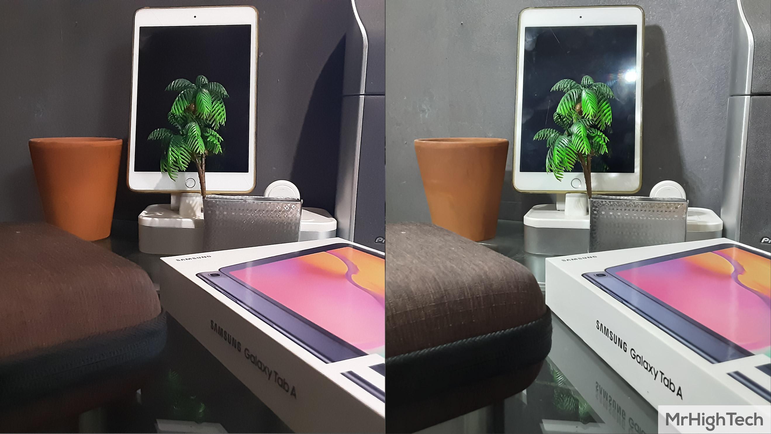 """Samsung Galaxy TabA 10.1"""" Capteur photo monté en iso"""