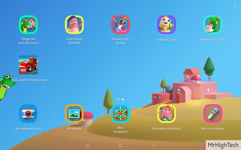 """Samsung Galaxy TabA 10.1"""" Mode enfant 2"""