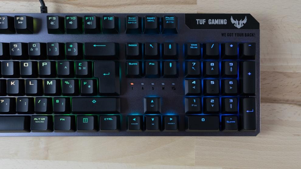 clavier gamer asus